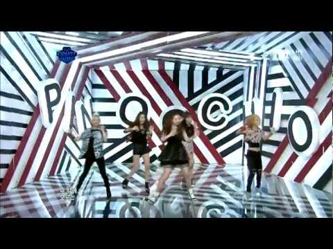 110428 f(x) - Pinocchio (Danger) | Comeback Stage LIVE @ M! Countdown