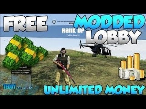 GTA V Online Modded Lobby AFTER PATCH 1.09 - Unlimited Money Glitch   RP Hack - GTA 5 Money Lobby - Smashpipe Games