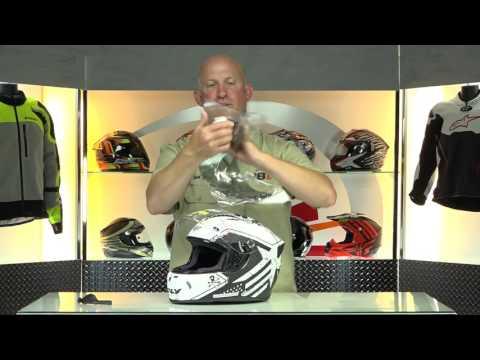 Fly Revolt FS Patriot Motorcycle Helmet | BikeBandit.com