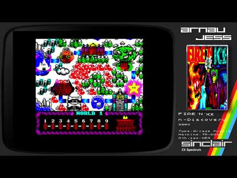 FIRE ´N ICE Zx Spectrum by n-Discovery