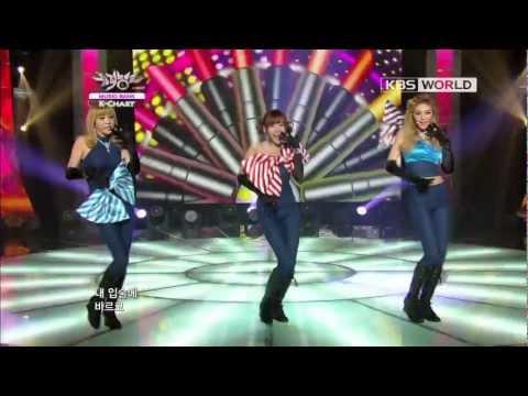 [Music Bank K-Chart] 1st Week of October & Orange Caramel - Lipstic (2012.10.05)