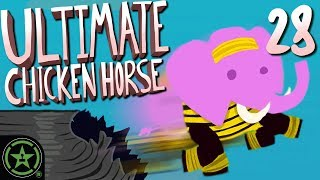 Player Collision is ON - Ultimate Chicken Horse (#28) | Let's Play