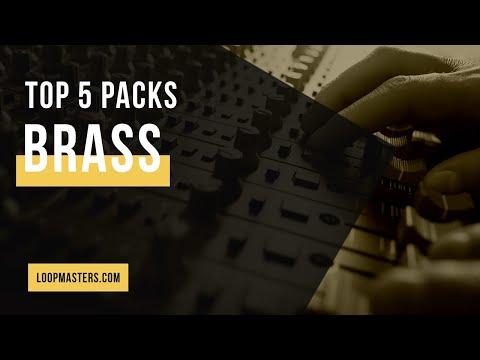 Top 5 | Best Brass Sample Packs on Loopmasters | Sax, Horn, Trumpet Loops, Samples, Sounds