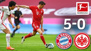FC Bayern Celebrates Goal Festival   Bayern München - Eintracht Frankfurt   5-0   Highlights   MD 5