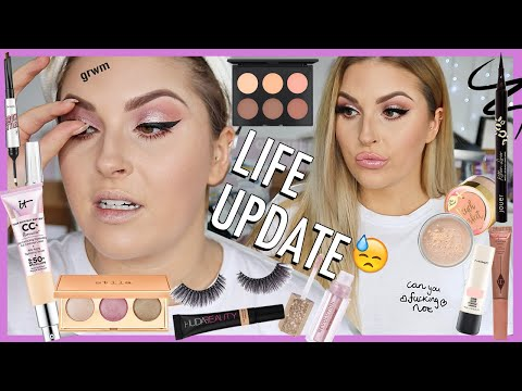 chit chat GRWM life update ? grieving, new tattoos & my plans