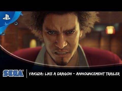 Yakuza: Like a Dragon   Announcement Trailer