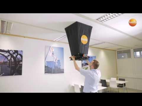 Luftflödesstosen testo 420 i praktiken