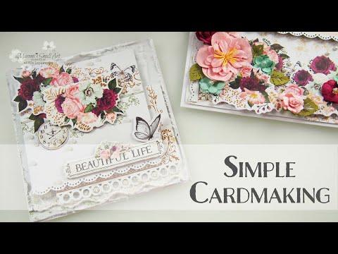 Simple Beginners Cardmaking ♡ Maremi's Small Art ♡