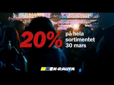 K-rauta - Dags för klubbdag den 30 mars