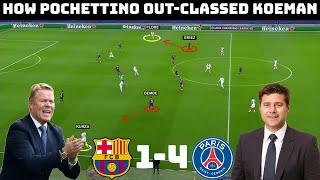 Tactical Analysis: Barcelona 1 - 4 | How PSG Dismantled Barcelona |