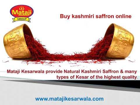 Mataji Kesarwala- Buy Original Kashmiri Saffron Online