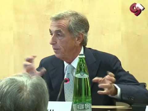 Maurizio Ughi Presidente Snai al covegno sulle Vlt