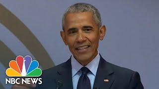Former President Barack Obama: 'The Denial Of Facts Runs Counter To Democracy' | NBC News
