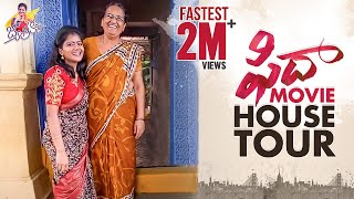 Fidaa movie house tour by anchor Shiva Jyothi..
