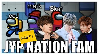 Among Us with DAY6 Jae, GOT7 Mark and Bambam (ft. QuarterJade, Masayoshi and friends!) | Part 1