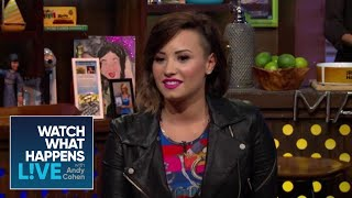 Demi Lovato Opens Up About 'Getting Wasted All The Time' As A Teenager   #FBF   WWHL