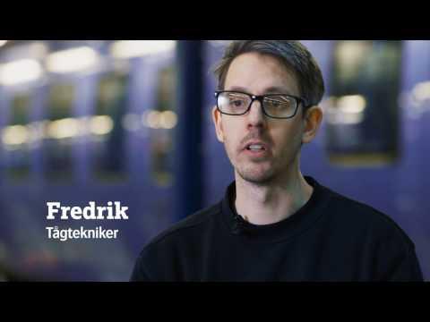 Skånetrafiken: Fredrik – tågtekniker