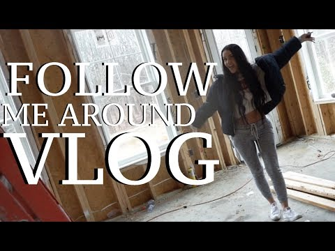 FOLLOW ME AROUND: NEW HOUSE? WEDDING FLOWERS & CAR RIDES