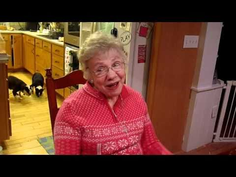 HILARIOUS!! Grandma on Helium