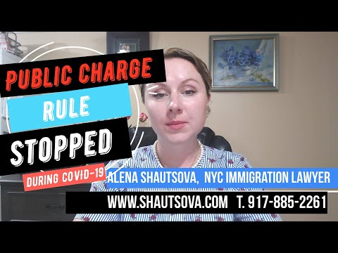 🔴Public Charge Rule During COVID Stopped Says New York Judge NYC Immigration Lawyer USA Immigration