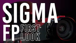 Sigma fp Full-Frame Mirrorless Camera | First Look