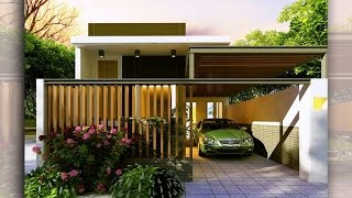 Mẫu nhà cấp 4 đẹp đẳng cấp villa giá rẻ năm 2017.