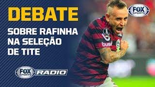 """RAFINHA TEM FUTEBOL PARA A SELEÇÃO DE TITE? """"Fox Sports Rádio"""" debate sobre o lateral do Flamengo"""
