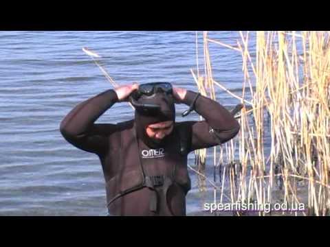 подводная охота - Кучурганский лиман 14.03.2010