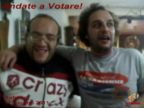 Federico e Angelo - Andate a votare - Tele Rofrano
