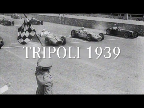 One Race, One Win! The Incredible Story of Tripoli 1939