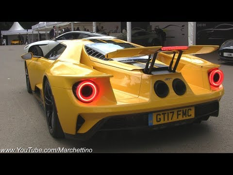 2017 Ford GT Exhaust Sound - Launches & Accelerations!