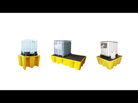 Spillpallar i plast från Ikaros® Cleantech