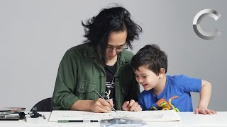Kids Describe God to an Illustrator