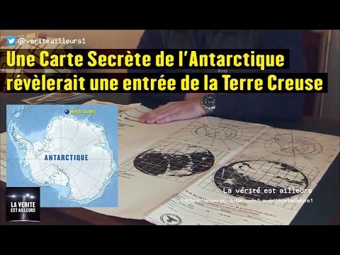 nouvel ordre mondial | ★ Une Carte Secrète de l'Antarctique révèlerait une entrée de la Terre Creuse