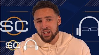 Klay Thompson talks Warriors' chase for a 5th ring and his love for dunking  | SC with SVP