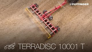 New for 2019: TERRADISC 8001 T / 10001 T