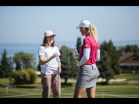 True Champions @evianchamp with Manon and Amy