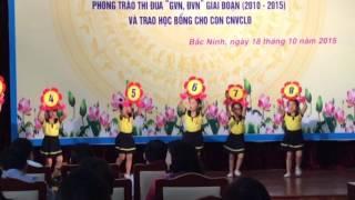 Trường Mầm Non Hoa Hồng Bắc Ninh - Hội nghị chào mừng ngày 20/10 - song numbers