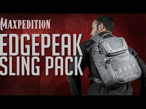 MAXPEDITION Advanced Gear Research EDGEPEAK Ambidextrous Sling Pack