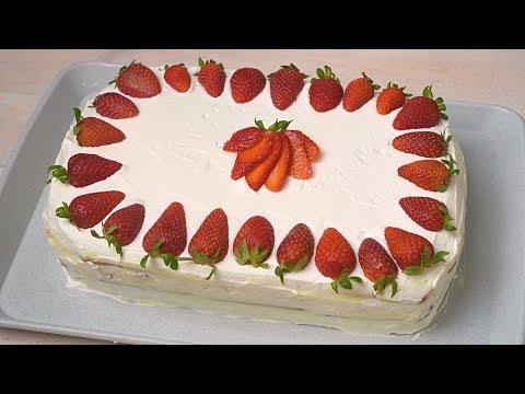 Brza torta sa jagodama
