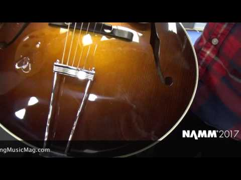 NAMM 2017 PRODUCT REVIEW : COLLINGS GUITARS : AT16