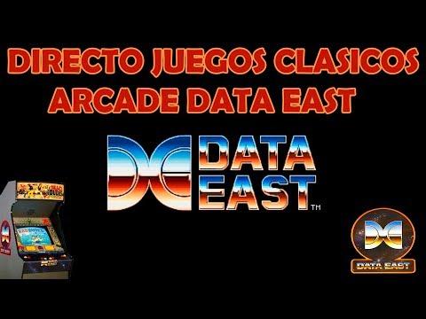 Directo juegos clasicos DATA EAST arcade #2