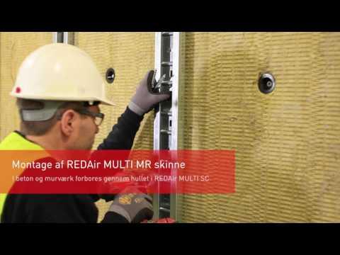 REDAir MULTI - Monteringsvejledning