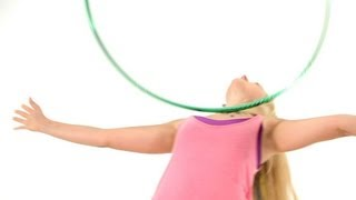 Hula Hoop Across the Chest Roll | Hula Hooping