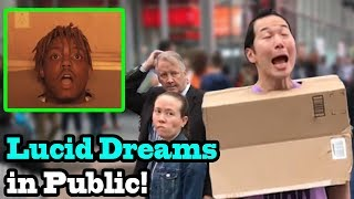 LUCID DREAMS - Juice Wrld - SINGING IN PUBLIC!!