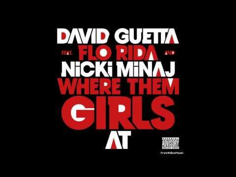 Baixar Where Dem Girls At- David Guetta (Feat. Nicki Minaj and Flo Rida) (Clean)