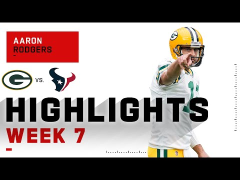 Aaron Rodgers DISMANTLES Texans w/ 4 TDs | NFL 2020 Highlights