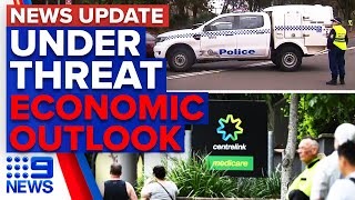 Students forced to evacuate classrooms, breaking news on the Australian economy | 9 News Australia