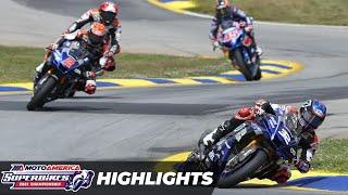 MotoAmerica HONOS Superbike Race 2 Highlights at Road Atlanta 2021