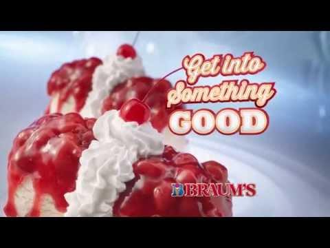 Braum's Cherry CheeseCake Sundae